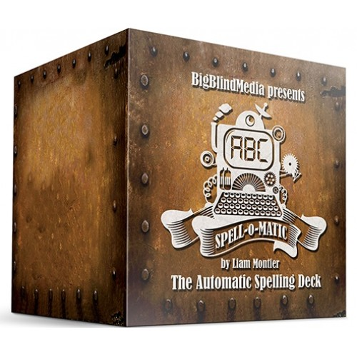 Spell-O-Matic Red (Gimmicks and Online Instructions) by Big Blind Media