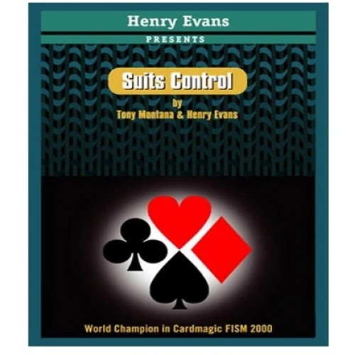 Suits Control (BLUE) by Henry Evans