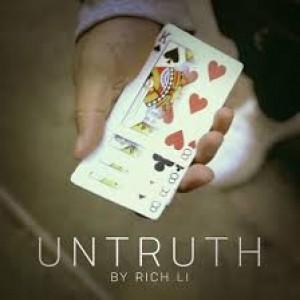 Untruth (DVD and Gimmicks) by Rich Li