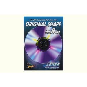Manipulation Mini CDs (Original Shape) by Live Magic