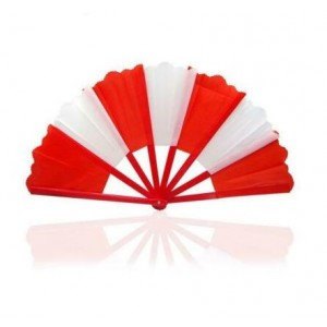Breakaway Fan (Special Quality) - Red and White