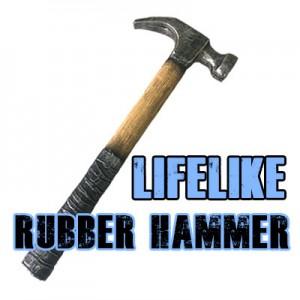 Life Like Rubber Hammer