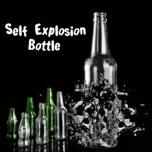 Self Explosion Bottle - Transparent Bottle
