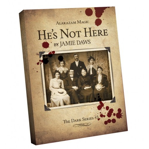 He's Not Here (DVD and Gimmicks) by Alakazam Magic