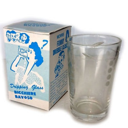 Dribble Water Glass (Joke Cup)
