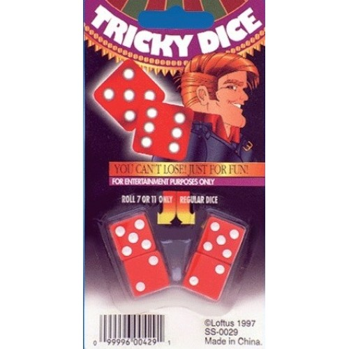 Tricky Dice (Red)