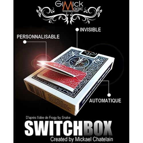 SWITCHBOX (RED) by Mickael Chatelain
