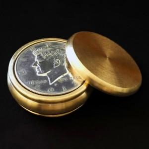 Buddha Boston Box (Half Dollar,Brass)