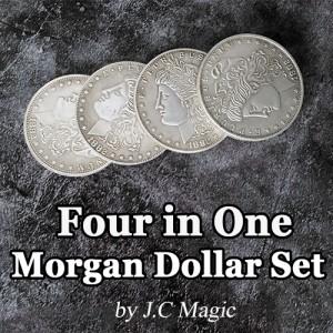 Four in One Morgan Dollar Set by J.C Magic