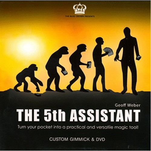 5th Assistant (Gimmick and DVD) by Geoff Weber