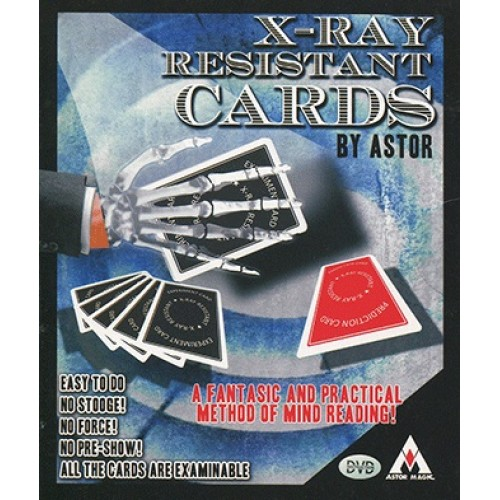 X-Ray Resistant Cards (with Marker) by Astor