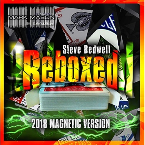 Reboxed 2018 Magnetic Version Blue by Steve Bedwell